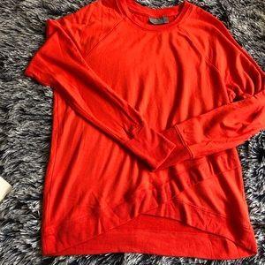 Athleta pullover orange size M